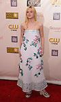 SANTA MONICA, CA - JANUARY 10: Elle Fanning arrives at the 18th Annual Critics' Choice Movie Awards at The Barker Hanger on January 10, 2013 in Santa Monica, California.