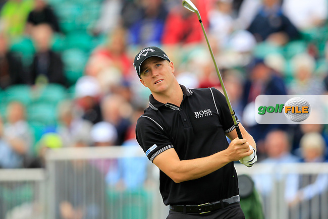 Alexander Noren (SWE) tees off the 5th tee during Friday's Round 2 of the 141st Open Championship at Royal Lytham & St.Annes, England 20th July 2012 (Photo Eoin Clarke/www.golffile.ie)