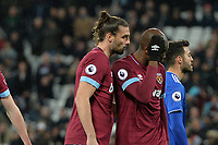 Andy Carroll Of West Ham United during West Ham United vs Cardiff City, Premier League Football at The London Stadium on 4th December 2018