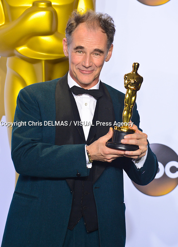 Mark Rylance @ the 88th Academy Awards held @ the Dolby theatre.<br /> February 28, 2016