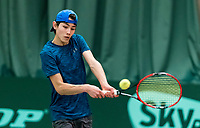 Wateringen, The Netherlands, March 9, 2018,  De Rijenhof , NOJK 12/16 years, Jesse Jager (NED)<br /> Photo: www.tennisimages.com/Henk Koster