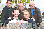 FESTIVAL: Unveiling details this week of the World Bodhra?n Championships festival in Milltown on the June Bank Holiday Weekend were committee members, front l-r: Ger O'Shea and Leva Anspoka. Back l-r: Tim Wrenn, Dan Cronin and Ken O'Neill.   Copyright Kerry's Eye 2008
