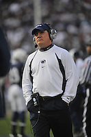 06 November 2010:  Penn State defensive coordinator Tom Bradley.  The Penn State Nittany Lions defeated the Northwestern Wildcats 35-21 to give coach his 400th career win at Beaver Stadium in State College, PA..