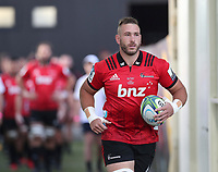 Luke Romano of the Crusaders during the round two Super Rugby match between the Crusaders and the Chiefs at AMI Stadium in Christchurch, New Zealand on Saturday, 24 February 2018. Photo: Martin Hunter/ lintottphoto.co.nz