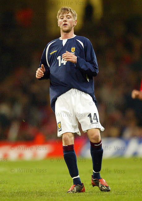 Paul Gallagher, Scotland.Stock Season 2003-2004.pic willie vass