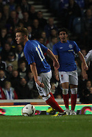 Lewis McLeod in the Rangers v Queen of the South Quarter Final match in the Ramsdens Cup played at Ibrox Stadium, Glasgow on 18.9.12.