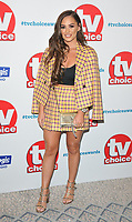 Courtney Green at the TV Choice Awards 2018, The Dorchester Hotel, Park Lane, London, England, UK, on Monday 10 September 2018.<br /> CAP/CAN<br /> &copy;CAN/Capital Pictures