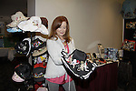 """Jacklyn Zeman """"Bobbie Spencer"""" - General Hospital checks out Jane Elissa hats as she raises money for Leukemia and Cancer Research. (Photo by Sue Coflin/Max Photos)"""