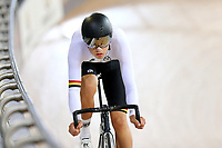 Kiaan Watts of Waikato BOP competes in the U17 Boys Sprint at the Age Group Track National Championships, Avantidrome, Home of Cycling, Cambridge, New Zealand, Friday, March 17, 2017. Mandatory Credit: © Dianne Manson/CyclingNZ  **NO ARCHIVING**