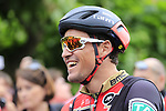Olympic Champion Greg Van Avermaet (BEL) BMC Racing Team waits for the start of Stage 2 of the 104th edition of the Tour de France 2017, running 203.5km from Dusseldorf, Germany to Liege, Belgium. 2nd July 2017.<br /> Picture: Eoin Clarke | Cyclefile<br /> <br /> <br /> All photos usage must carry mandatory copyright credit (&copy; Cyclefile | Eoin Clarke)