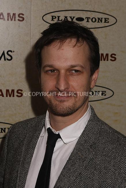 WWW.ACEPIXS.COM . . . . . ....March 3 2008, New York City....Actor Josh Charles arriving at the premiere of HBO's 'John Adams'  at The Museum of Modern Art in midtown Manhattan....Please byline: AJ SOKALNER - ACEPIXS.COM.. . . . . . ..Ace Pictures, Inc:  ..(646) 769 0430..e-mail: info@acepixs.com..web: http://www.acepixs.com