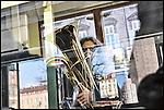 Jazz in Tram, con la Bergese e Borio Marchin Band, evento organizzato dall'Associazione Torinese Tram Storici e dal Piossasco Jazz Festival. Dicembre 2012