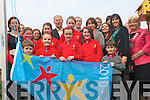 Holy Cross Mercy National School has become the first school in Kerry to raise an active flag in their school. A special celebration was held at the school last week to mark this important achievement and Miche?al O' Muircheartaigh was on hand to raise the flag. .Pictured are the School's Active Committee with their teachers.