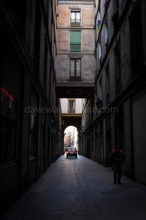 Passatge de la Pau, Barri Gotic, Barcelona, Catalonia, Spain