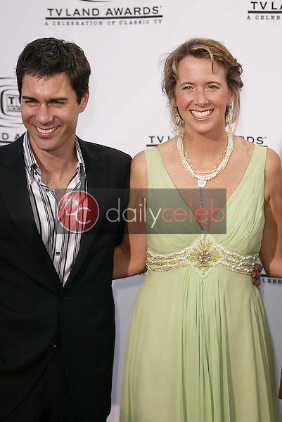 Eric McCormack and wife Janet