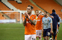 Blackpool's Harry Pritchard at the end of todays match<br /> <br /> Photographer Rachel Holborn/CameraSport<br /> <br /> The EFL Checkatrade Trophy Group C - Blackpool v Accrington Stanley - Tuesday 13th November 2018 - Bloomfield Road - Blackpool<br />  <br /> World Copyright © 2018 CameraSport. All rights reserved. 43 Linden Ave. Countesthorpe. Leicester. England. LE8 5PG - Tel: +44 (0) 116 277 4147 - admin@camerasport.com - www.camerasport.com