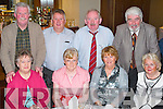 Gathering: Enjoying the Ballinorig Social in The Manor West Hotel, Tralee, on Friday evening were, front l-r: Betty Moriarty, Kathleen OConnor, Eileen Tobin and Tina Wall. Back l-r: Gerard Fenix, Sean OConnor, Pat Tobin and John Wall..