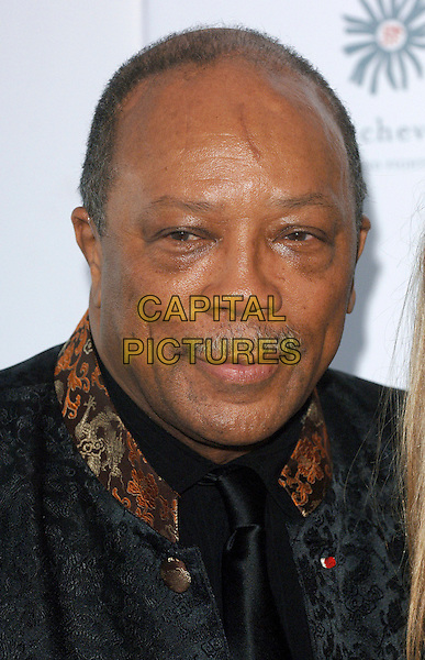 QUINCY JONES.The RAISA Gorbachev Foundation Russian Ball, Althorp House, Northamptonshire, UK..June 10th, 2006.Ref: BEL.headshot portrait mustache facial hair .www.capitalpictures.com.sales@capitalpictures.com.© Capital Pictures.
