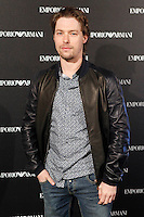 Jan Cornet attends the Emporio Armani Boutique opening at Serrano street in Madrid, Spain. April 08, 2013. (ALTERPHOTOS/Caro Marin) /NortePhoto