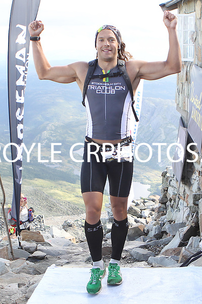 Race number 37 - Marcus Hultgren - Sunday Norseman Xtreme Tri 2012 - Norway - photo by chris royle / boxingheaven@gmail.com
