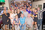 Key to the Door - Michael Tobin from Ballinorig, seated centre having a ball with friends and family at his 21st birthday bash held in Dowdies Bar, Tralee on Saturday night.
