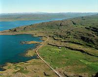Þernuvík séð til suðausturs, Súðavíkurhreppur áður Ögurhreppur / Thernuvik viewing south, Sudavikurhreppur former Ogurhreppur