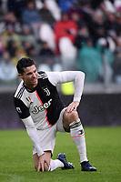 Cristiano Ronaldo of Juventus dejection <br /> Torino 1-12-2019 Juventus Stadium <br /> Football Serie A 2019/2020 <br /> Juventus FC - US Sassuolo 2-2 <br /> Photo Federico Tardito / Insidefoto