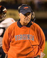 02 September 2006: Virginia head coach Al Groh..The Pitt Panthers defeated the Virginia Cavaliers 38-13 on September 02, 2006 at Heinz Field, Pittsburgh, Pennsylvania.