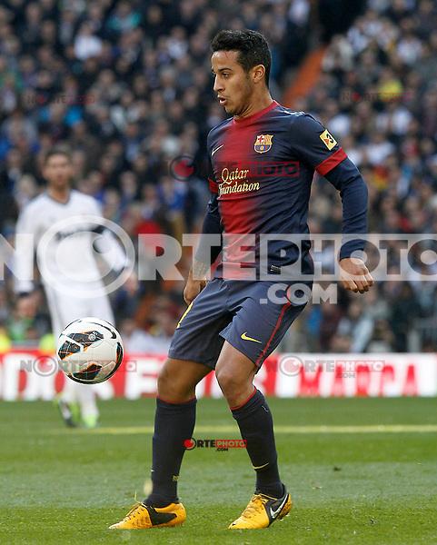 FC Barcelona's Thiago Alcantara during La Liga match.March 02,2013. (ALTERPHOTOS/Acero) /NortePhoto