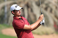 Pedro Figueiredo (POR) in action during round 3, Ras Al Khaimah Challenge Tour Grand Final played at Al Hamra Golf Club, Ras Al Khaimah, UAE. 02/11/2018<br /> Picture: Golffile | Phil Inglis<br /> <br /> All photo usage must carry mandatory copyright credit (&copy; Golffile | Phil Inglis)