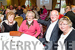 Alice Tierney. Mary O'Brien Sean Lynch and Eileen Lynch at Fr.  Sean Hanafin  Farewell Party at the Meadowlands Hotel on Friday