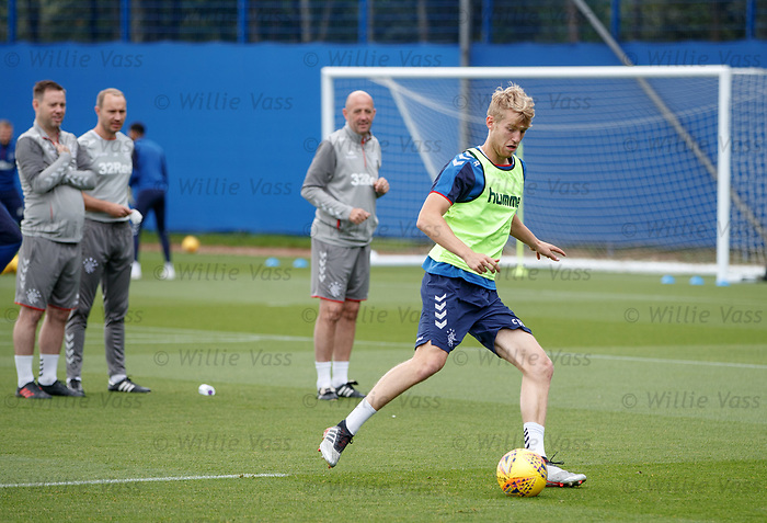 28.08.2019 Rangers training: Filip Helander