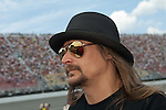June 14 2009:  Musician Kid Rock on the grid at the LifeLock 400 at Michigan International Speedway in Brooklyn, MIchigan.