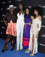 "LOS ANGELES - MAR 23:  Billy Porter, Dominique Jackson, Mj Rodriguez, Indya Moore at the PaleyFest - ""Pose"" Event at the Dolby Theater on March 23, 2019 in Los Angeles, CA"