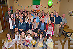Martha Teahan, Buddihans, Kilcummin, pictured with family and friends as she celebrated her 40th birthday in the Kilcummin GAA Clubhouse on Saturday night.........