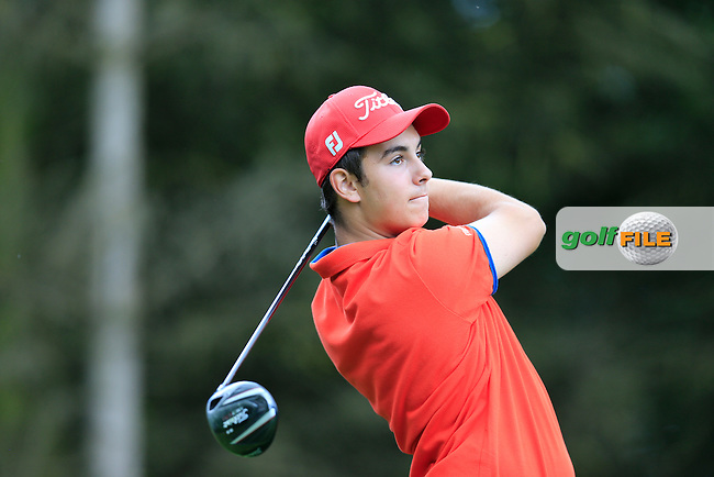 Antoine Aubion (France) during the final round of the 2015 Irish Boys Amateur Open Championship, Tuam Golf Club, Tuam, Co Galway. 26/06/2015<br /> Picture: Golffile | Fran Caffrey