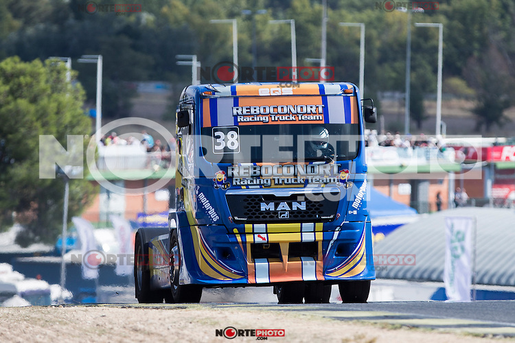 Portuguese driver Jose Eduardo Rodrigues belonging Portuguese team Jose Eduardo Rodrigues during the fist race R1 of the XXX Spain GP Camion of the FIA European Truck Racing Championship 2016 in Madrid. October 01, 2016. (ALTERPHOTOS/Rodrigo Jimenez) /NortePHOTO /NORTEPHOTO.COM