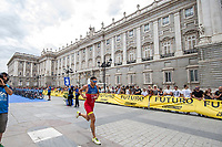 Jordi Garcia of Spain during the 2017 Madrid ITU Triathlon World Cup in Madrid, May 28, 2017. Spain.. (ALTERPHOTOS/Rodrigo Jimenez) /NortePhoto.com