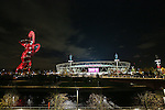A general view of the London Stadium after the Premier League match at the London Stadium, London. Picture date November 5th, 2016 Pic David Klein/Sportimage