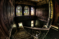 This was an old school in East Germany. Not so much to phootgraph but the staircae was stunning. I had to shoot it from many angles