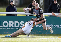Adrian Purtell in action for London during the Kingstone Press Championship game between London Broncos and Bradford Bulls at Ealing Trailfinders, Ealing, on Sun March 5, 2017