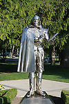 Shakespeare statue at the Stratford Theatre Festival in Stratford, Ontario, Canada on August 30, 2011. (Photo by Sue Coflin/Max Photos)