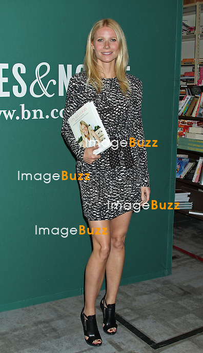 "Gwyneth Paltrow signs copies of her new book :  "" t's All Good: Delicious, Easy Recipes That Will Make You Look Good and Feel Great "" , at Barnes & Noble bookstore at The Grove in Los Angeles..April 3, 2013."