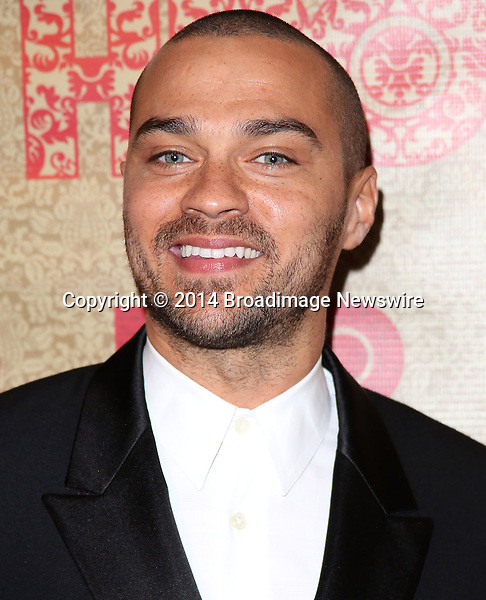 Pictured: Jesse Williams<br /> Mandatory Credit &copy; Frederick Taylor/Broadimage<br /> HBO's Post 2014 Golden Globe Awards Party - Arrivals<br /> <br /> 1/12/14, Los Angeles, California, United States of America<br /> <br /> Broadimage Newswire<br /> Los Angeles 1+  (310) 301-1027<br /> New York      1+  (646) 827-9134<br /> sales@broadimage.com<br /> http://www.broadimage.com