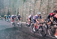 Jacopo Mosca (ITA/Trek-Segafredo) racing in torrential rains up Il Piccolo Stelvio at <br /> Grande Trittico Lombardo 2020 (1.Pro/ITA)<br /> 1 day race from Legnano to Varese (200km)