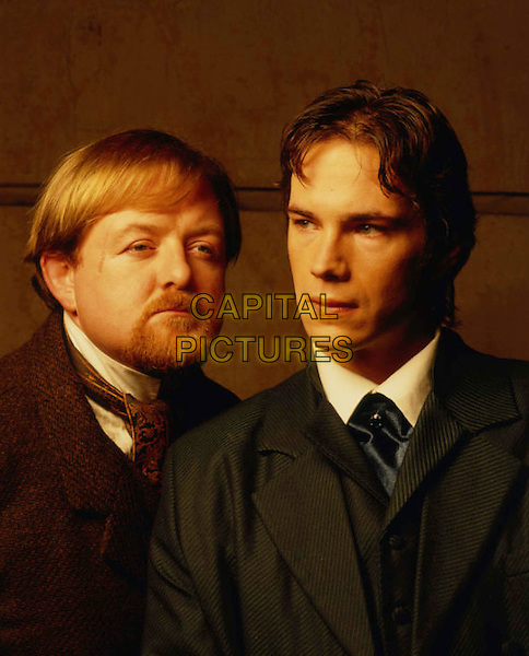 CASE OF EVIL     TV, 2002..ROGER MORLIDGE AS DR WATSON.JAMES D'ARCY AS SHERLOCK HOLMES..Filmstill - Editorial Use Only .Ref: FB .www.capitalpictures.com.sales@capitalpictures.com.Supplied by Capital Pictures