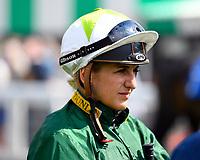 Jockey Josephine Gordon during Afternoon Racing at Salisbury Racecourse on 16th May 2019