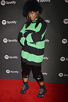 LOS ANGELES, CA - FEBRUARY 07: Tierra Whack attends Spotify's Best New Artist Party at the Hammer Museum on February 07, 2019 in Los Angeles, California.<br /> CAP/ROT/TM<br /> ©TM/ROT/Capital Pictures