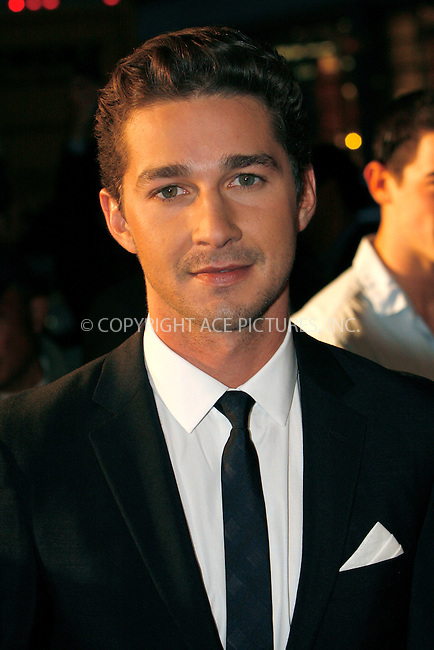 WWW.ACEPIXS.COM . . . . .  ....September 20, 2010....Actor Shia LaBeouf attends the Wall Street Money Never Sleeps Premiere at the Ziegfeld Theatre on September 20, 2010 in New York City.......Please byline: NANCY RIVERA - ACEPIXS.COM.... *** ***..Ace Pictures, Inc:  ..Philip Vaughan  (646) 769 0430..e-mail: info@acepixs.com..web: http://www.acepixs.com