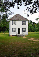 Reconstruction of the Cherokee Nation Supreme Court building, originally built in 1829 on the grounds of New Echota, Georgia.  Constituted in 1822, the court met annually, and had three judges, which heard 246 cases, from 1823-1835.  Also used as a church and school, when the court was not in session.
